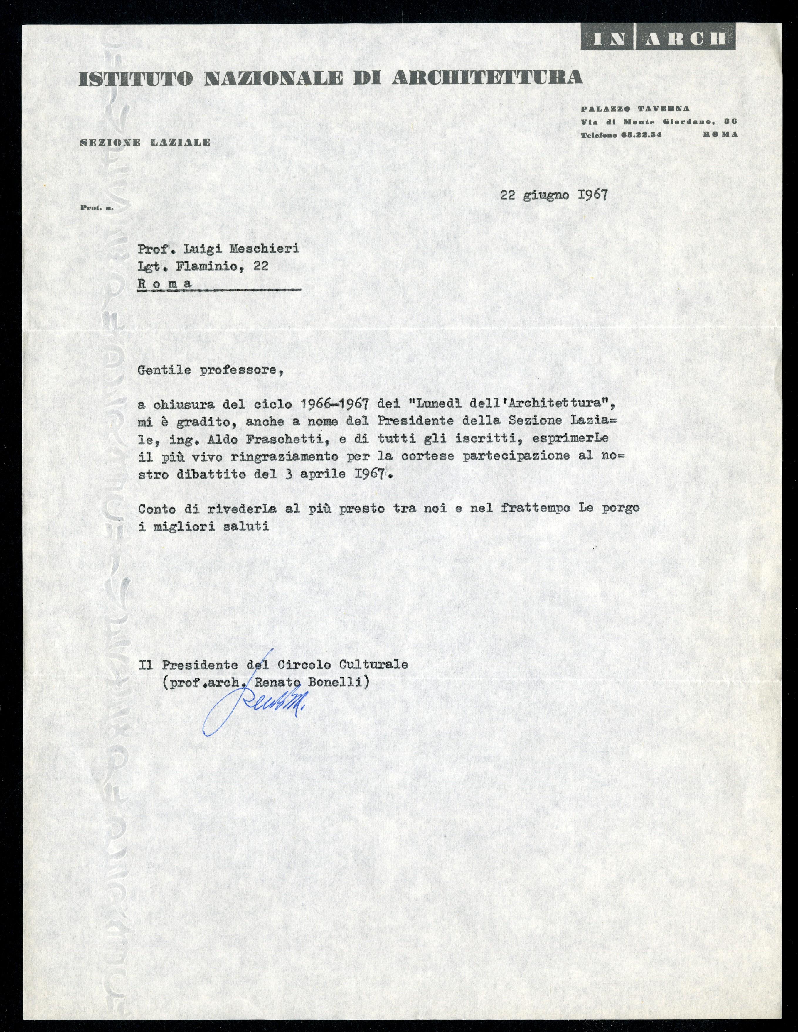 Bonelli Renato - Aspi - Archivio storico della psicologia italiana 56b8e6e933cf