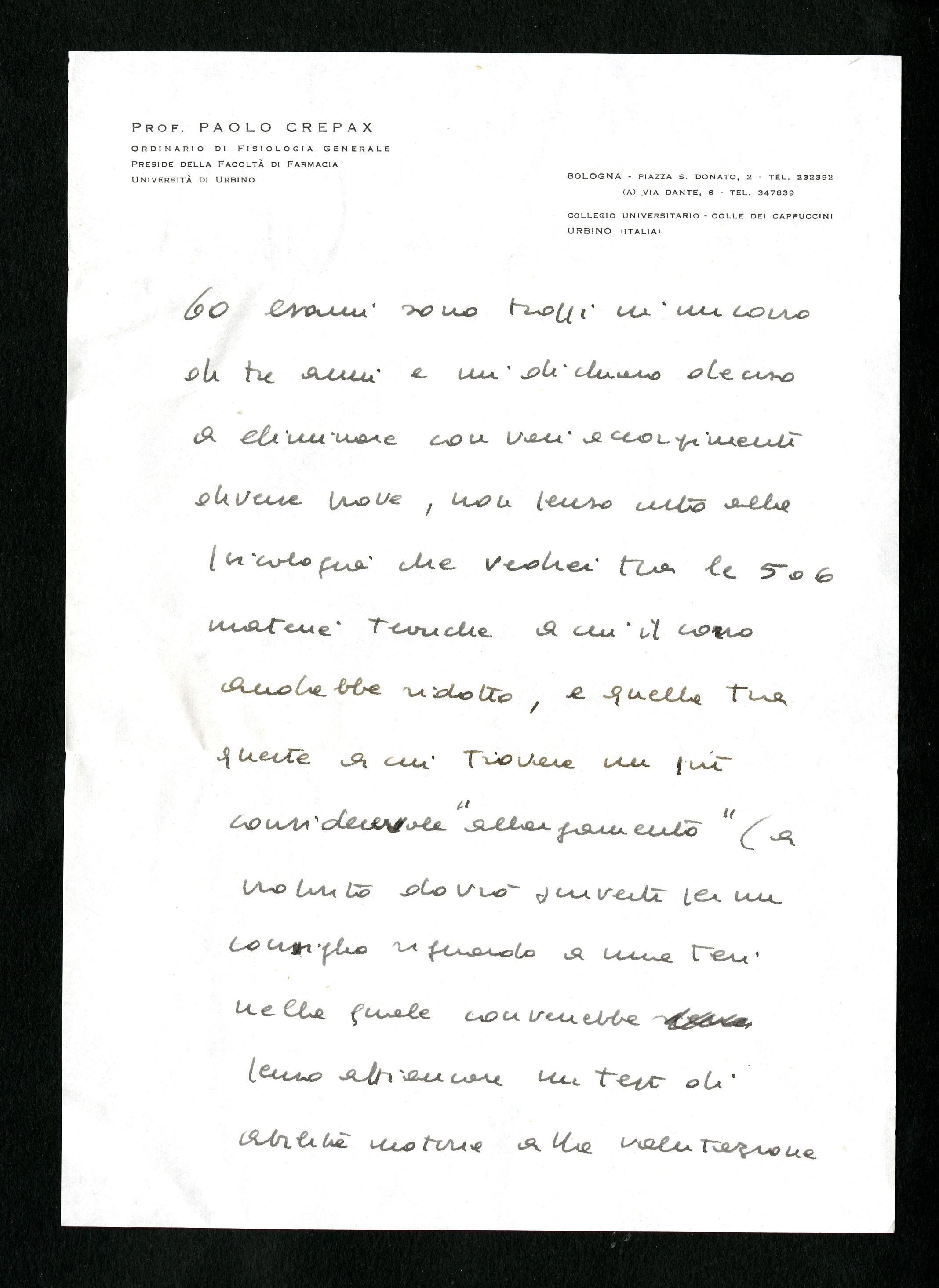 Crepax Paolo - Aspi - Archivio storico della psicologia italiana 87c51ab9caf0