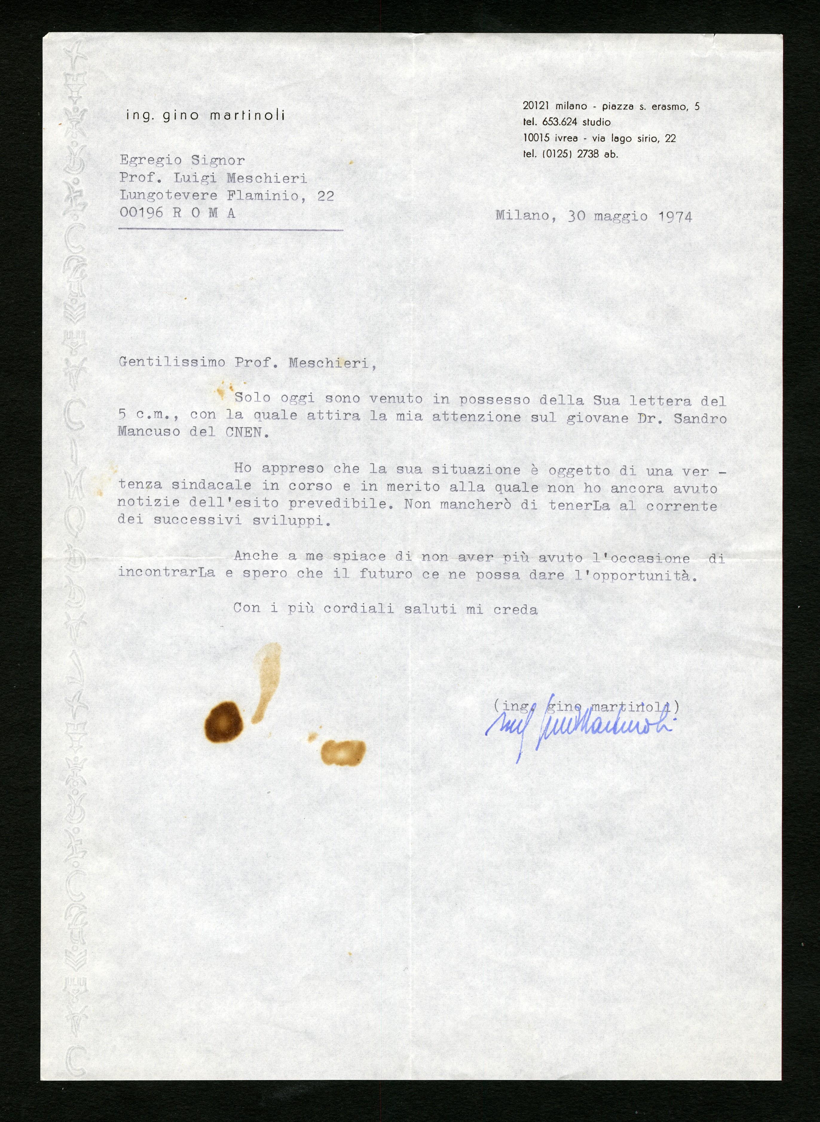 Martinoli Gino - Aspi - Archivio storico della psicologia italiana 4e30d43c25a5