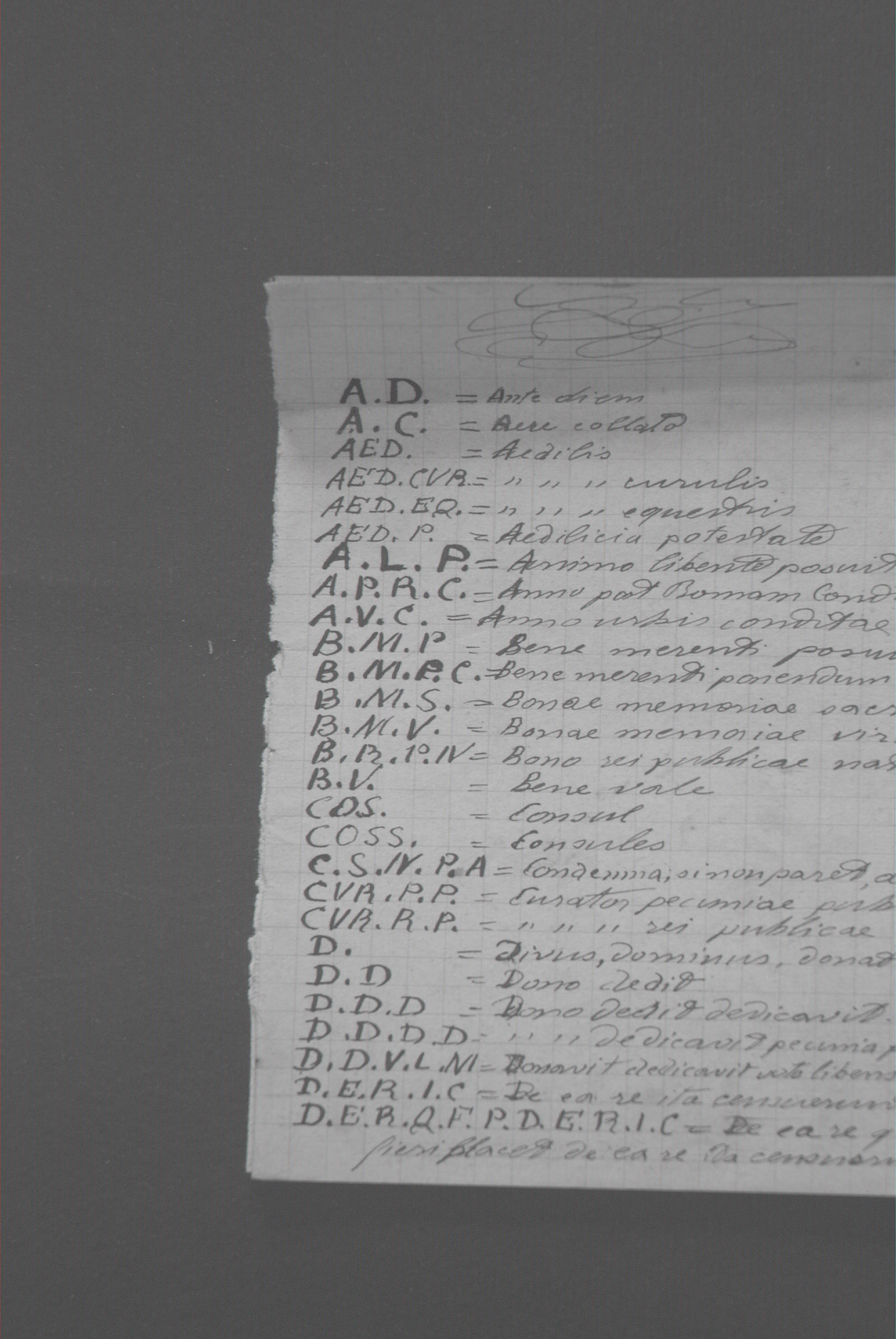 Calendario Romano.Appunti Sulle Abbreviazioni Latine E Il Calendario Romano S D