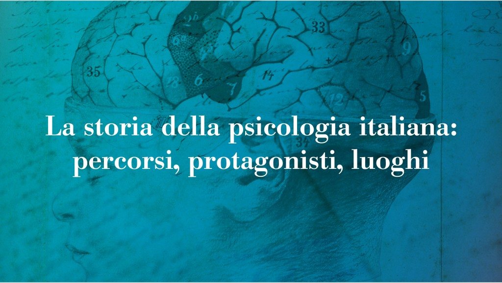 Mostra on-line: http://www.storiapsicologiaitaliana.it