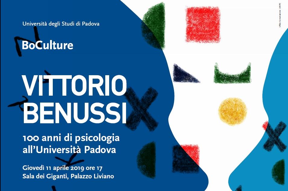 """Presentazione del libro """"Vittorio Benussi in the History of Psychology"""""""