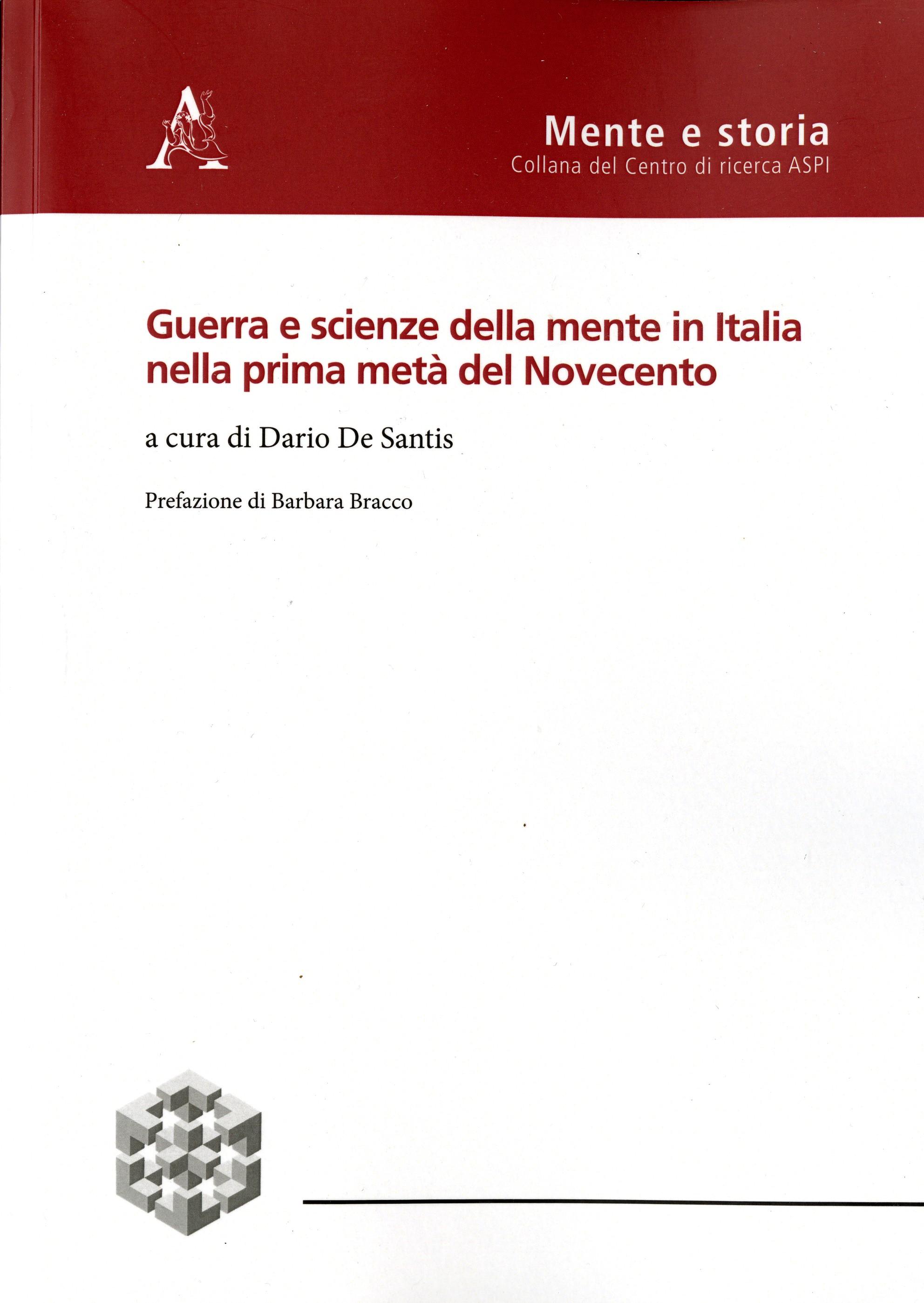 Guerra e scienze della mente in Italia nella prima metà del Novecento
