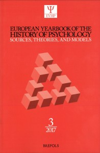 European Yearbook of the History of Psychology (2017)
